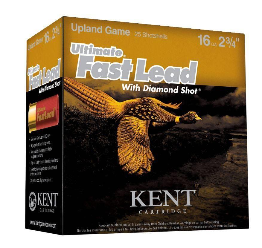 Kent Kent Ultimate Fast Lead w/ Diamond Shot Shotgun Shells (25 Count)