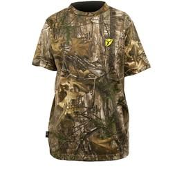 Scentblocker Men's Short Sleeve T-Shirt Realtree Xtra