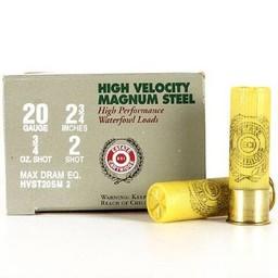 Estate High Velocity Magnum Steel Shotgun Shells (25-Rounds)