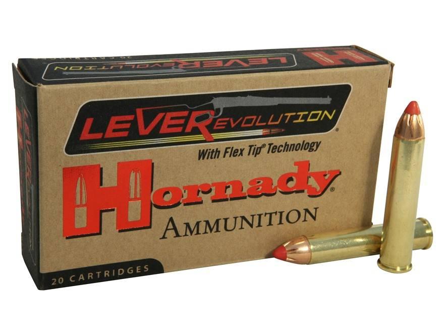 Hornady Hornady LEVERevolution Centerfire Ammunition (20-Rounds)