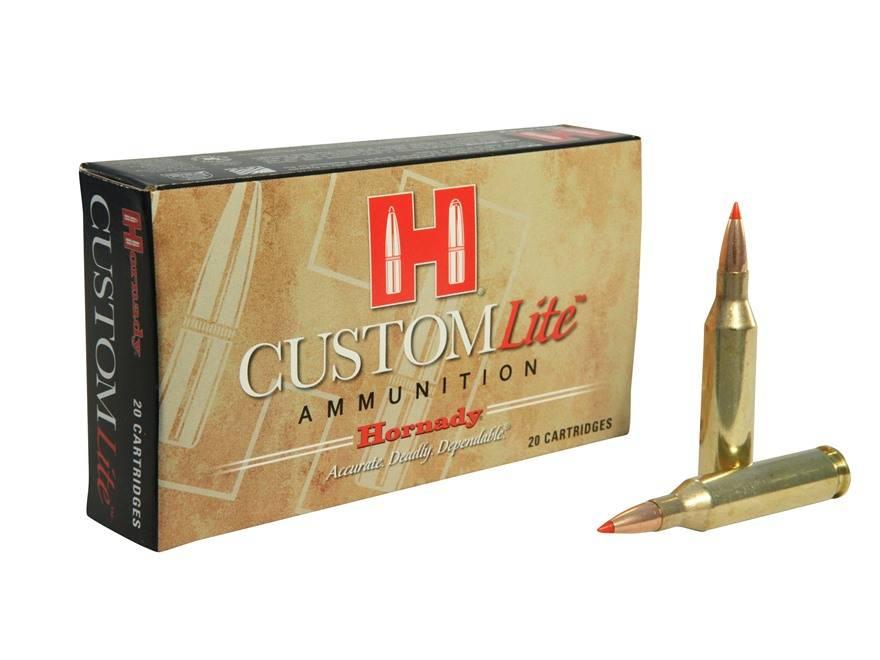 Hornady Hornady Custom Lite Centerfire Ammunition