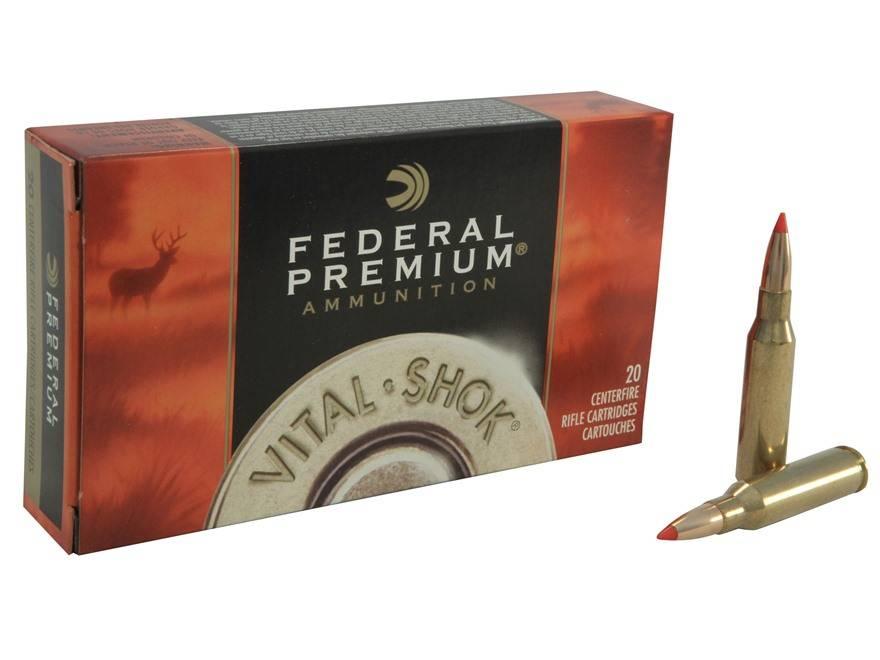 Federal Premium Federal Premium Vital-Shok Centerfire Ammunition (20-Rounds)