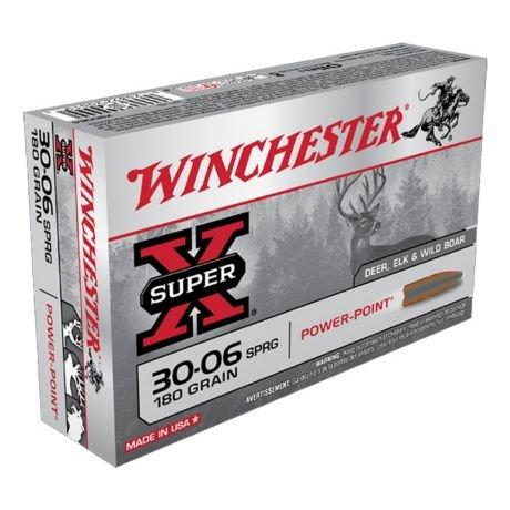 Winchester Super-X Centerfire Ammunition (20-Rounds)