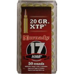 Hornady Hornady Varmint Express .17HMR 20 Grain XTP (50 Rounds)