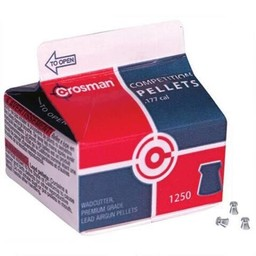Crosman Competition Pellets .177 Cal. Wadcutter Carton (1250-Count)