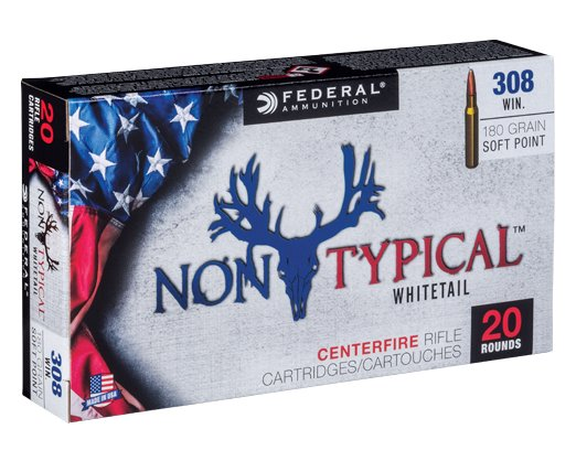 Federal Federal Non-Typical Whitetail Centerfire Ammunition (20-Rounds)