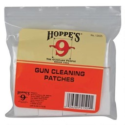 Hoppe's Hoppe's Bulk Cotton Gun Cleaning Patches 12/16 Gauge (300-Patches)