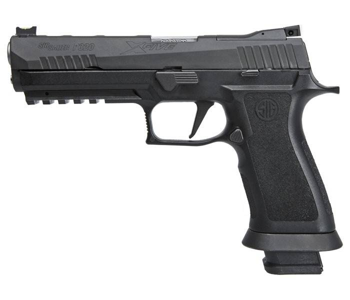 "Sig Sauer P320 XFive-Series 9mm 5"" Barrel w/ Adjustable Rear Sight and Modular Poly-X Grip"