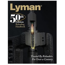 Lyman Lyman 50th Edition Hardcover Reloading Manual