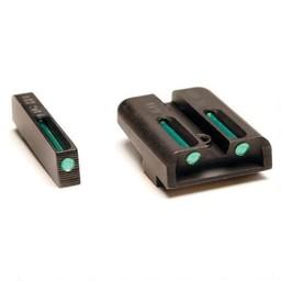 TRUGLO Smith and Wesson M&P 22 Tritium Fiber Optic Sight Set