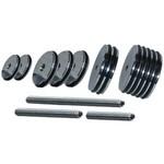Dead Center Archery Products Custom Balance Weight System Kit 1/4x20 Matte Black