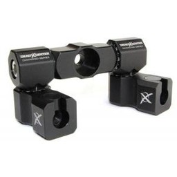 Dead Center Archery Products Dead Center Diamond Series V-Bar Dual Mount - Adjusting Arms QD