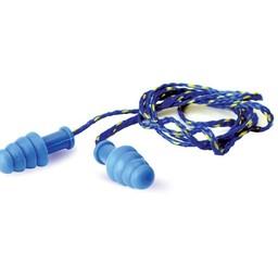 Walker's Game Gear Walker's Contour Rubber Ear Plugs Blue