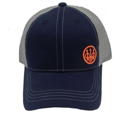 Beretta Beretta Trucker Hat Offset Logo Black/Grey