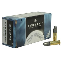 Federal Federal Champion .22LR HV 40 Grain Round Nose