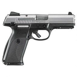 "Ruger SR9 9mm 4.14"" Barrel Compact Black Frame"