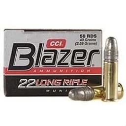 Blazer Blazer 22LR Rimfire Ammunition 40 Grain 50-Count