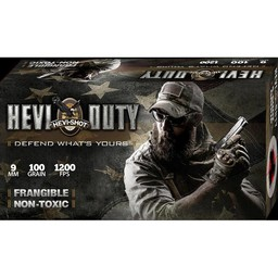 Hevi-Shot Hevi-Shot Hevi-Duty Frangible Non-Toxic Centerfire Ammunition