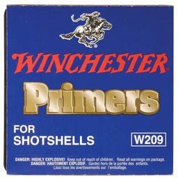 Winchester Winchester Primers for Shotshells W209 (100 Count)