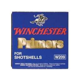 Winchester Primers for Shotshells W209 (100-Count)