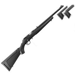 """Ruger American Standard .17HMR Right Hand 18"""" Barrel w/ Adjustable Trigger"""