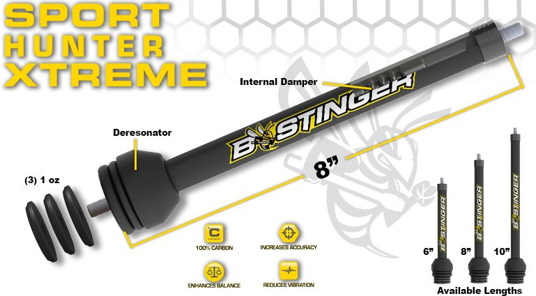 Bee Stinger Sport Hunter Xtreme Stabilizer