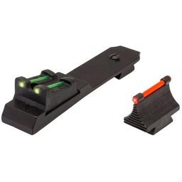 TRUGLO Semi-Auto Rifle Set Fiber-Optic Front/Rear Sight