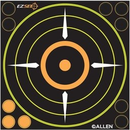 "Allen Allen Adhesive EZ See 8"" Sight-In Target (6-Pack)"