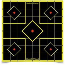 "Birchwood Casey Birchwood Casey 6"" Shoot-N-C Reactive Targets (12-Pack)"