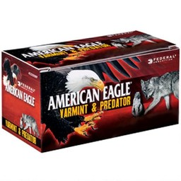 Federal Federal American Eagle Varmint and Predator .22 Hornet 35 Grain Tipped Varmint Centerfire Ammunition (50-Rounds)
