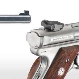 Ruger Mark lll 22LR Competition Target 6 7/8'' Barrel Stainless Slab Side