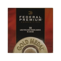 Federal Premium Federal Premium Gold Medal Match Large Pistol Primers