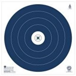 "NFAA Five Star Blue Target (17"" x 17"")"