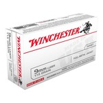 Winchester 9mm 115 Grain Full Metal Jacket (50 Rounds)
