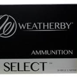 Weatherby Weatherby Select 6.5-.300 WBY Magnum 140 Grain Soft Point (20-Rounds)