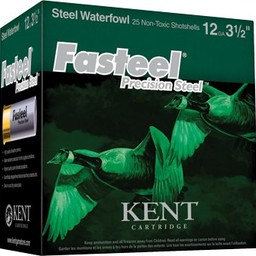 Kent Kent Waterfowl Fasteel Precision Steel Shotgun Shells (250-Rounds)