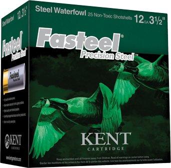 Kent Kent Waterfowl Fasteel Precision Steel Shotgun Shells (250-Rounds)