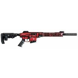 """Derya MK-12 12 Gauge 3"""" 20"""" Barrel Blurred Red w/ White Maple Leaf"""