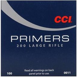 CCI CCI Large Rifle Primers No. 200 (100-Count)
