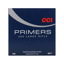 CCI CCI Large Rifle Primers No. 200 (100-Count)