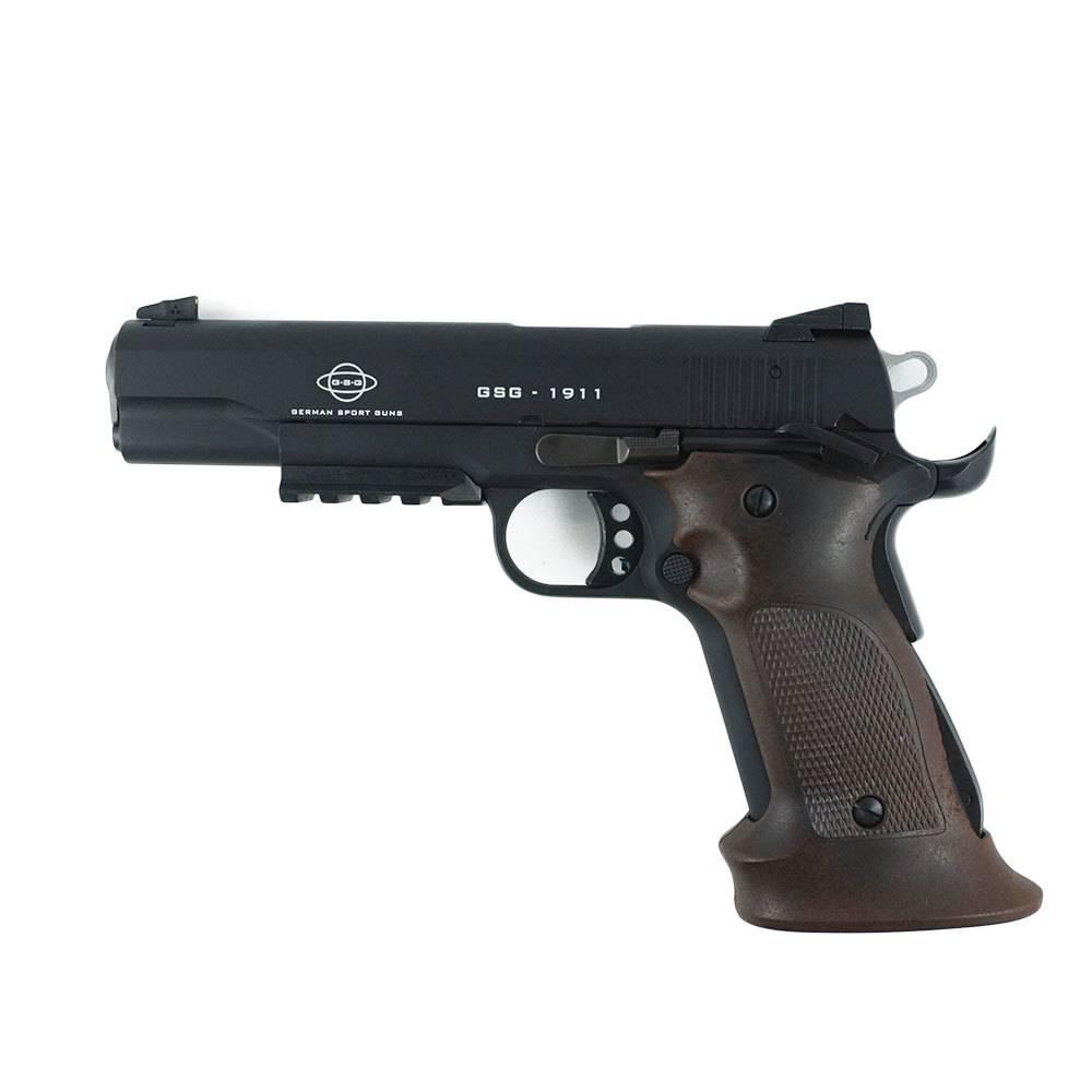GSG 1911-22 .22LR Target 3 Magazines Target Grips Adjustable Rear Sight