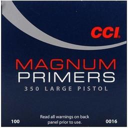 CCI CCI Magnum Large Pistol Primers 350 (100-Count)