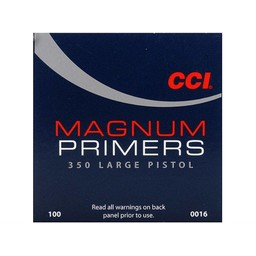 CCI CCI Magnum Large Pistol Primers 350 (100-Count)