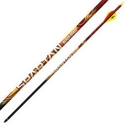 "Black Eagle Spartan Fletched Arrows .001"" (6-Pack)"