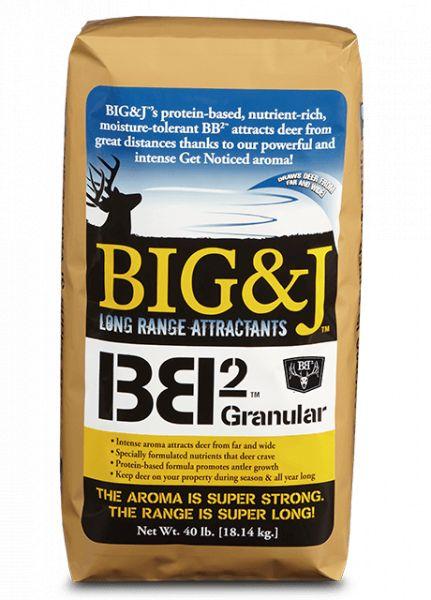 Big & J Long Range Attractants BB2 Feed/Attractant (40 Pound Bag)