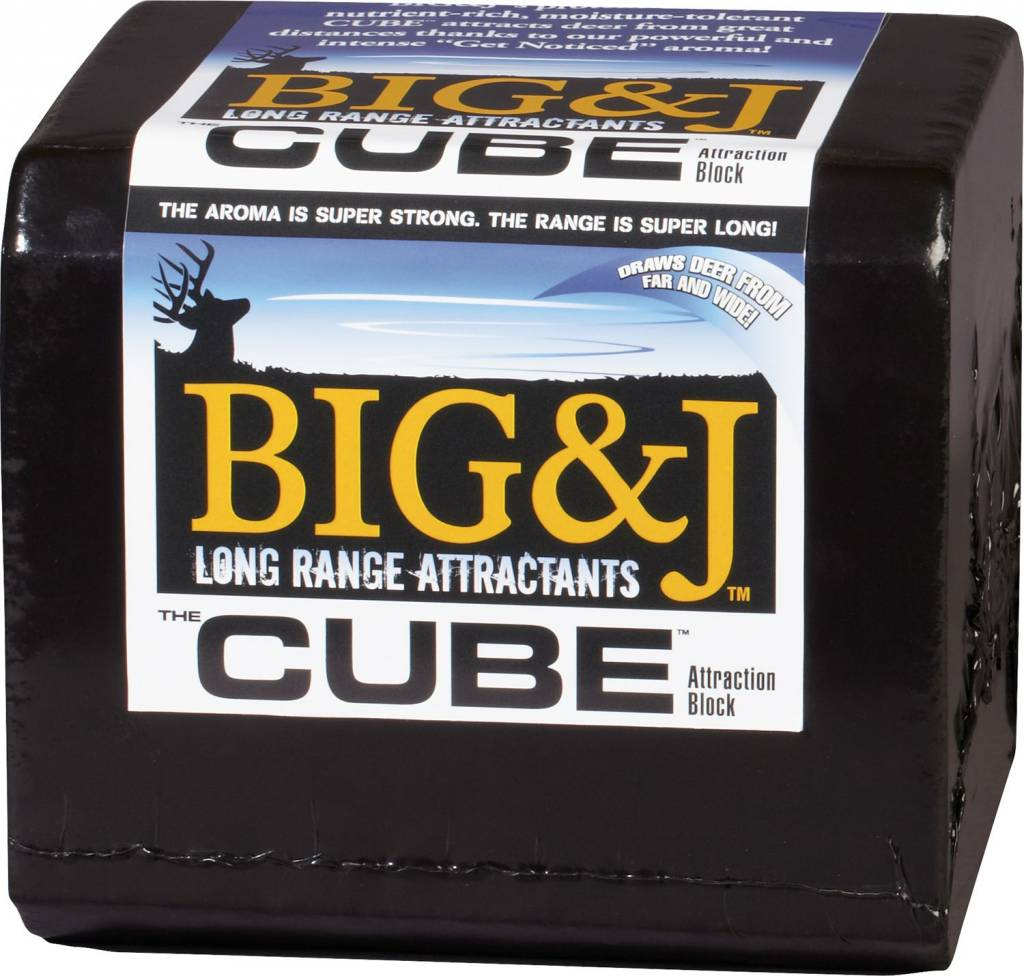 Big & J Mineral Cube Attraction Block
