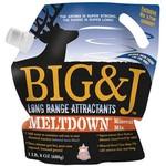 Big & J Industries Meltdown Mineral Mix 1.5# Bag, Long Range Attractant