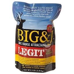 Big & J Legit Mineral Mix 5# Bag