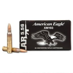 American Eagle American Eagle MSR 5.56x45mm 55 Grain FMJ (20-Rounds)