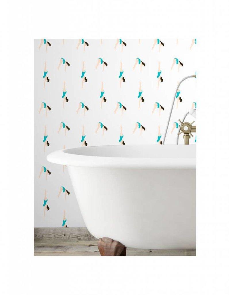 PaperMint Papermint Wallpaper Le Plongeon